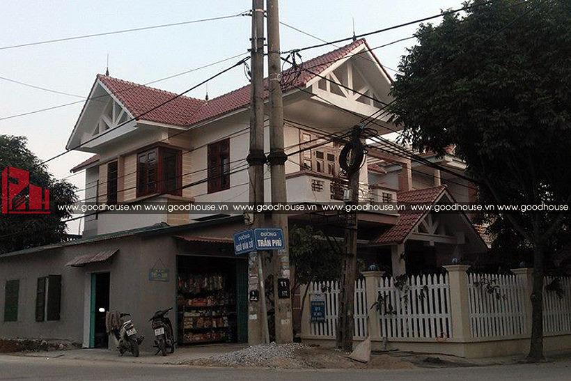 Thiết kế nhà 2 tầng tại Ninh Bình - góc nhìn 01