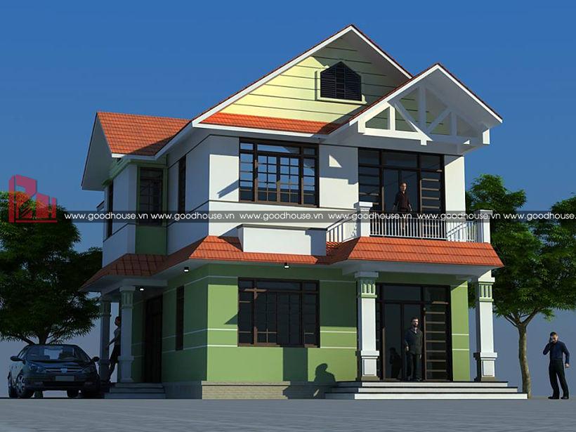 thiết kế nhà vườn tại Ninh Bình