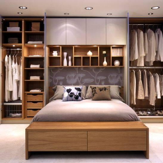 Lựa chọn tủ cho phòng ngủ