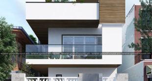 thiết kế nhà 2 tầng giá 400 triệu