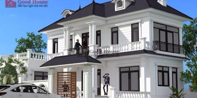 Mẫu nhà nhà 2 tầng 1 khoảng tỷ đồng